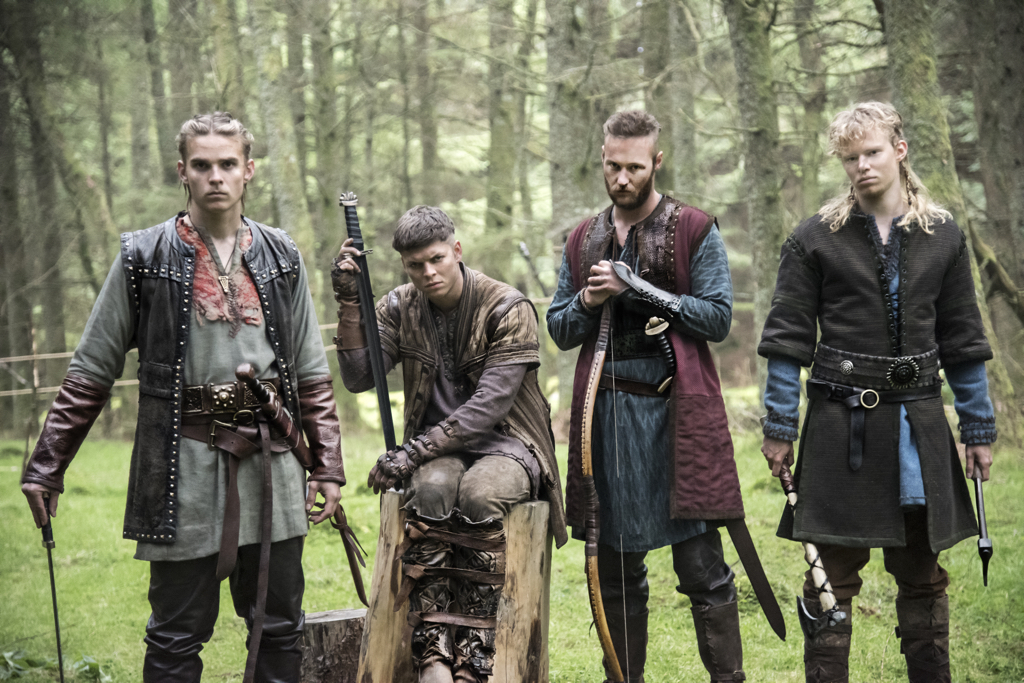 Resultado de imagen de vikings ragnar sons