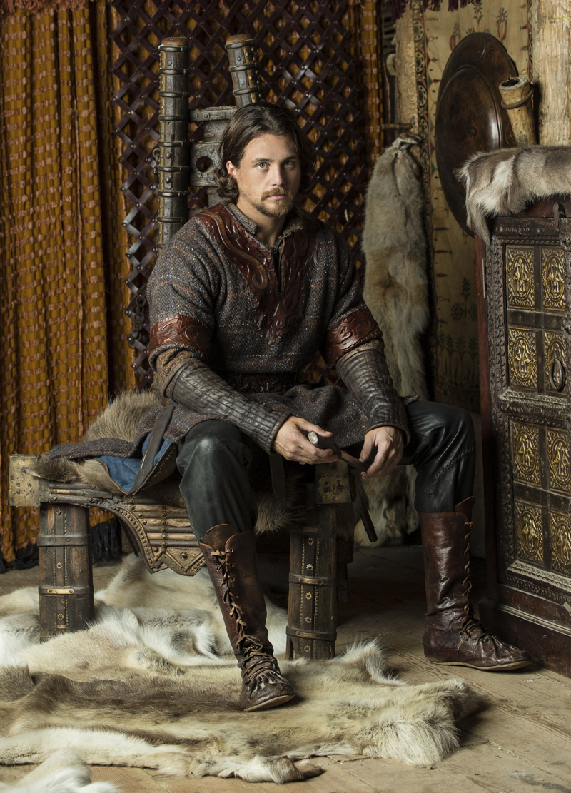 Ben Robson Vikings Calculating Kalf Tv Show Patrol