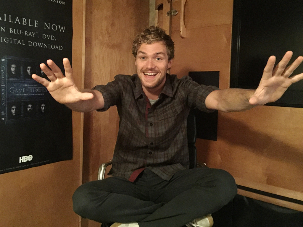 finn jones 39 game of thrones 39 to 39 iron fist 39 tv show patrol. Black Bedroom Furniture Sets. Home Design Ideas