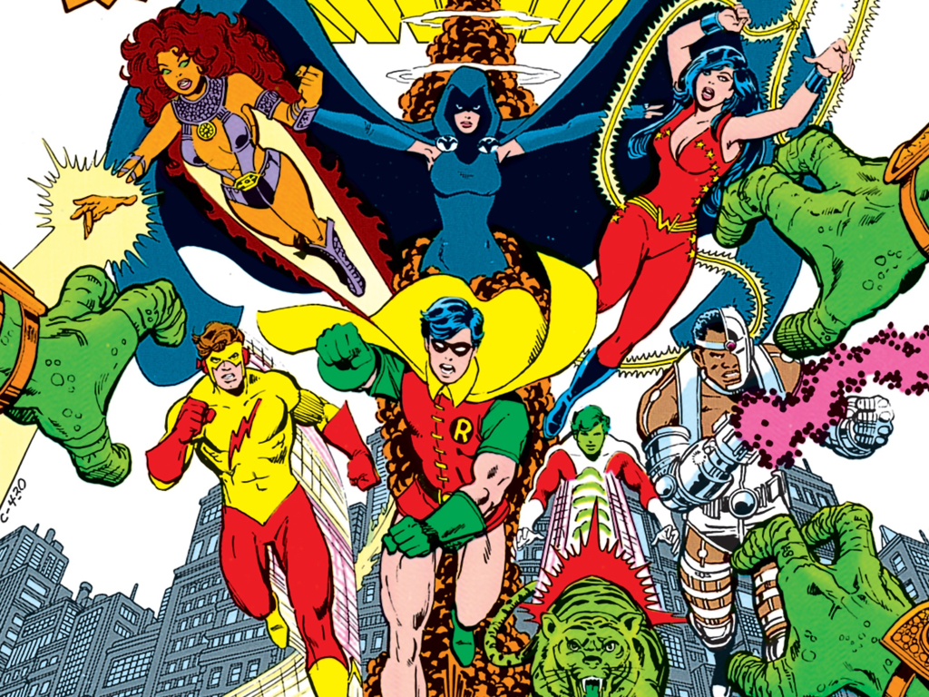 """Television and DC Entertainment announced a live-action """"Teen Titans"""" based on """"The New Teen Titans"""" comics. (DC)"""